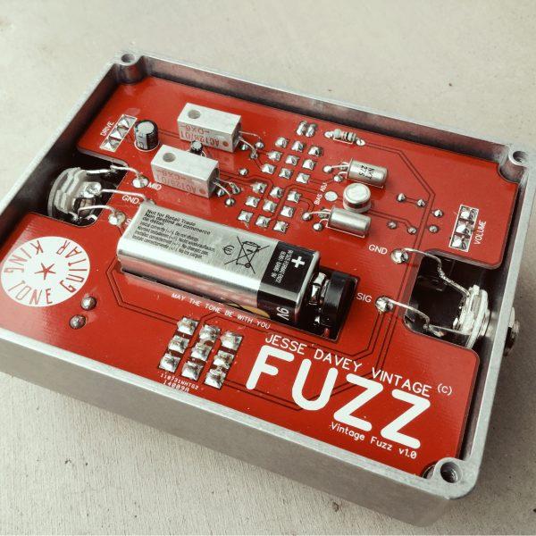 vintage fuzz king tone guitar. Black Bedroom Furniture Sets. Home Design Ideas